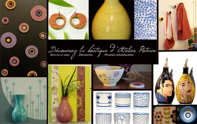 boutique poterie